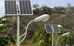 Solar panel and light